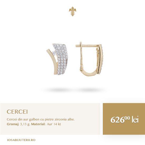 O pereche nouă de cercei este o investiție în estetic și dispoziție.   Comandă acum pe http://www.iosabijuterii.ro/bijuterii/cercei-din-aur-galben/ »