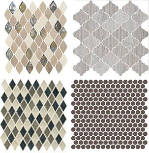 Great Daltile Mosaics for backsplashes and Accents ...