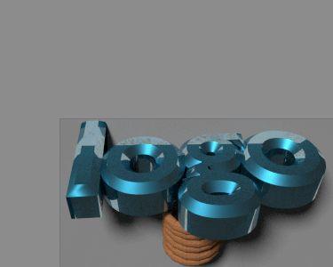 blender 3d animatie logo