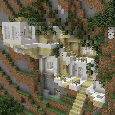 Birch Base Minecraft houses Minecraft architecture