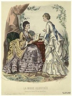 La Mode Illustrée. The New York Public Library, Digital Collections