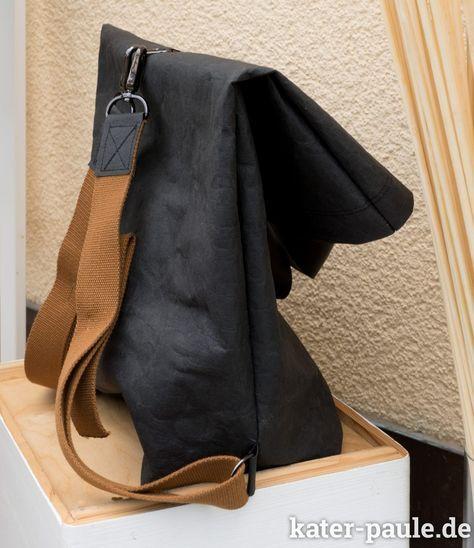 Schnell genäht – Rucksack aus SnapPap plus – Anfänger