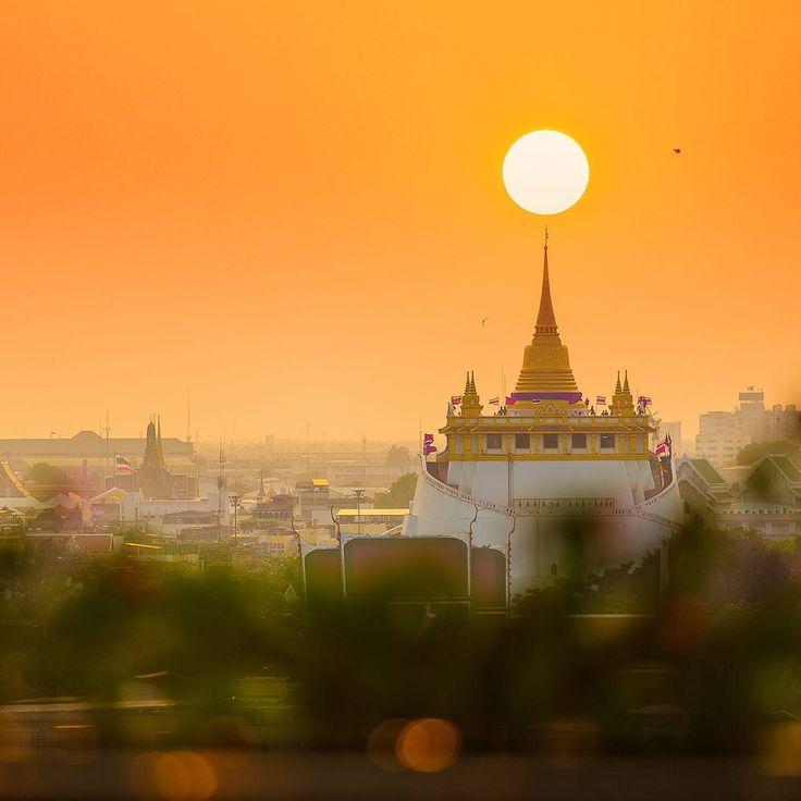 Golden Mountain Wat Saket  #таиланд #бангкок #туризм #путешествие #буддизм #отдых #отпуск #счастье #медитация #солнце #азия #мотивация #тайланд #me #tourist #vacation #instago #travel #thailand #trip #bangkok #tourism #follow #city #f4f #beautiful #love #instagood #urban #architecture