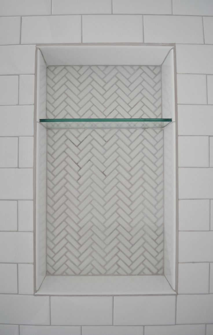 best 10 shower shelves ideas on pinterest tiled bathrooms 1930s bathroom remodel reveal