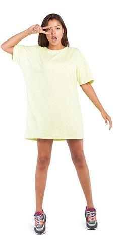 LIME T-DRESS