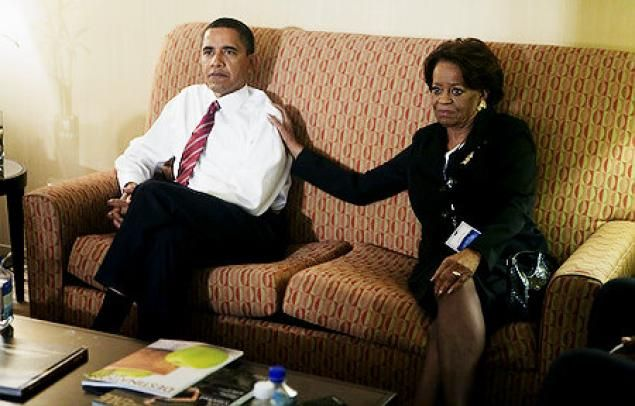 """Marian Shields Robinson - The """"First Grandma"""" with President Obama"""