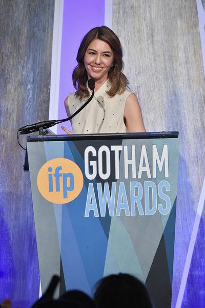 Sofia Coppola Photos - Director Sofia Coppola speaks onstage during IFP's 27th Annual Gotham Independent Film Awards on November 27, 2017 in New York City. - IFP's 27th Annual Gotham Independent Film Awards - Show