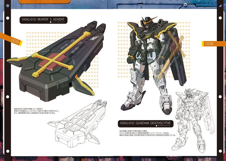 GUNDAM GUY: Gundam Digital Artwork: Gundam Wing - By 倉持キョーリュー
