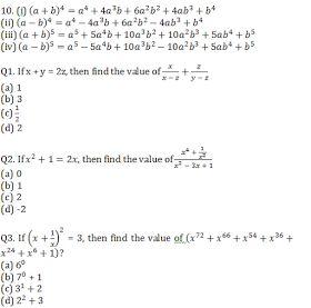 algebra formulas pdf for ssc