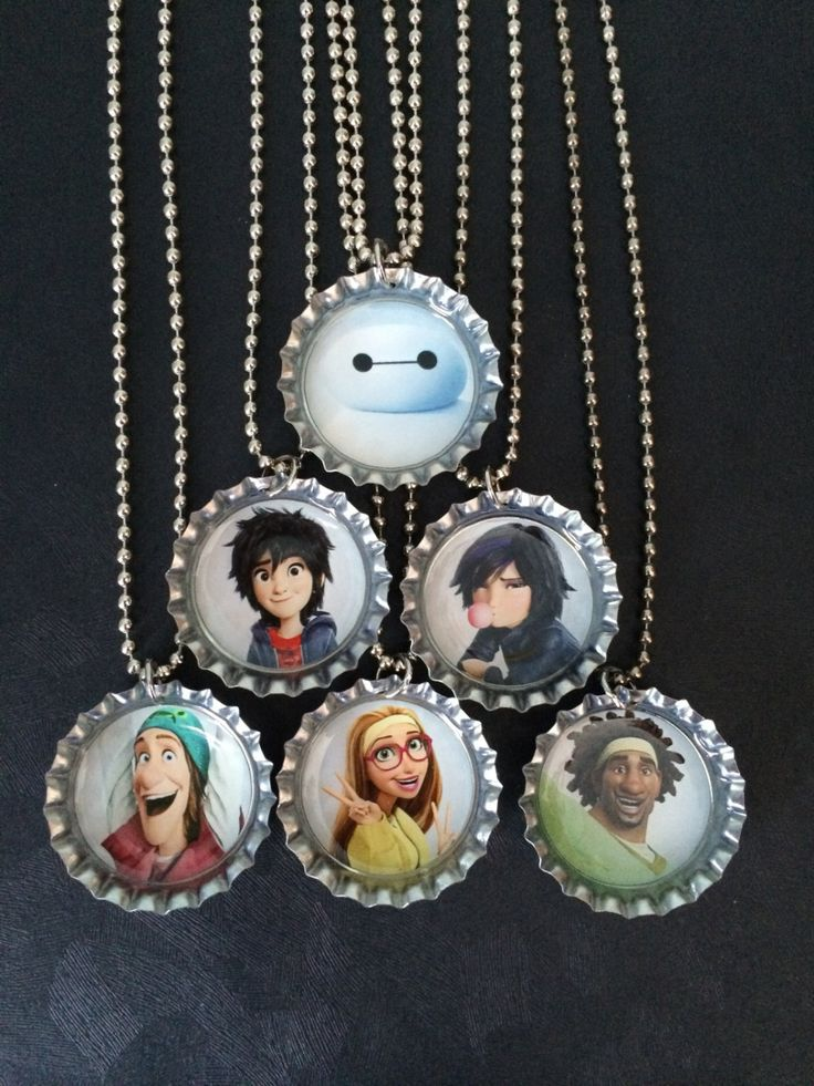 Big Hero 6  Party favors (6) / Your choice of characters /Custom orders available by PPPartyFavors on Etsy