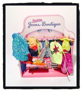 Gioco Vintage BARBIE  JEANS BOUTIQUE MATTEL con Scatola Anni '80 | eBay