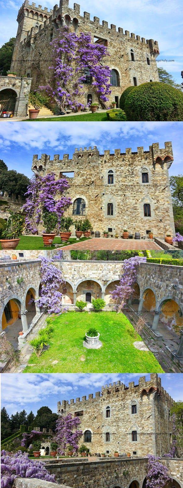 Villas, castles meeting and wedding in Italy