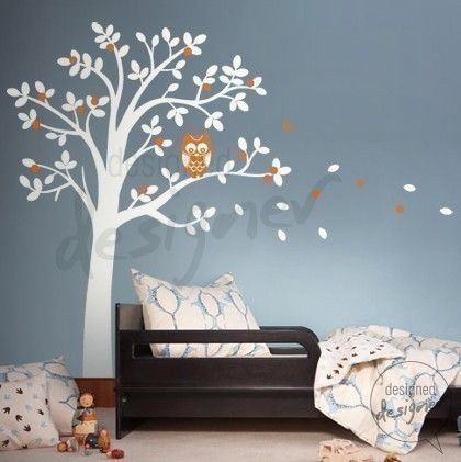 Tree Wall Decal Wall Sticker Nersery Decal  by designedDESIGNER, $68.00