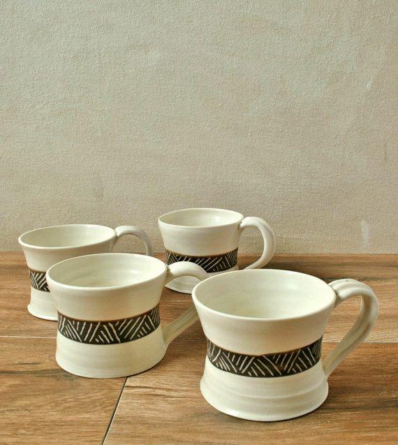 Check out this item in my Etsy shop https://www.etsy.com/il-en/listing/234434660/ceramic-espresso-cup-set-porcelain