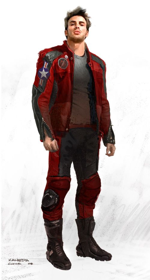 Chris Evans and Joseph Gordon-Levitt in Akira Concept Art