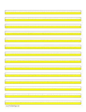 Dyslexia yellow paper