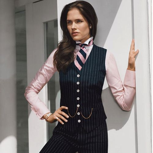Image result for shirt and tie professional women