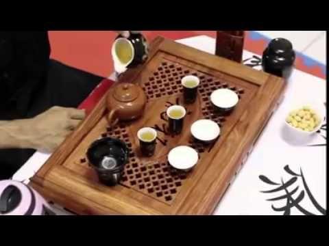 Cerimônia do Chá Chines - Gong Fu Chá - YouTube