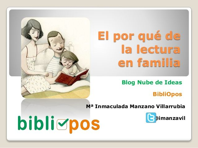 El por qué de la lectura en familia