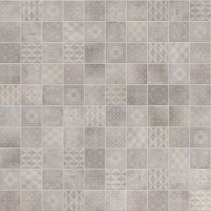 Betonsquare dekorer. Innovativ, estetisk og tradisjonell u-rektifisert dekor i 10×10 cm format.