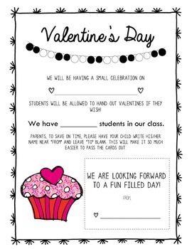 6f9c23c695ca94733ee16a18bc5e16b4--parent-notes-parent-letters Valentine Letter Template Kindergarten on valentines owl card template, kindergarten easter egg template, kindergarten valentine's, kindergarten spring template,