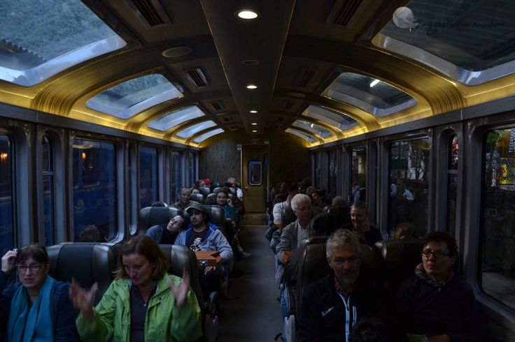 Trem para Machu Picchu Peru Rail Vistadome