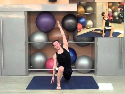 Half hour power yoga 2 - great sequence!  Lots of arms and upper body.