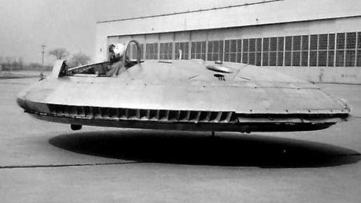 Avro Canada VZ-9 Avrocar, 1958-1959(2)