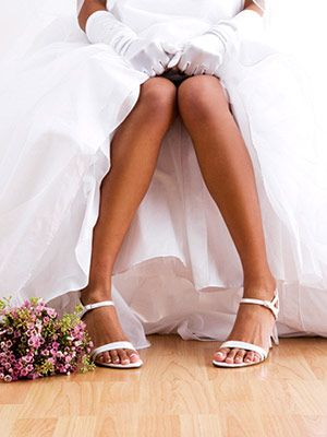 The best legs, butt and thighs workout for your wedding - based on your dress type. #fitnessmagazine