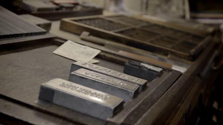 Letterpress Printing Process The Large Notebooks Graphic Design Talents La Grande Baron Fig