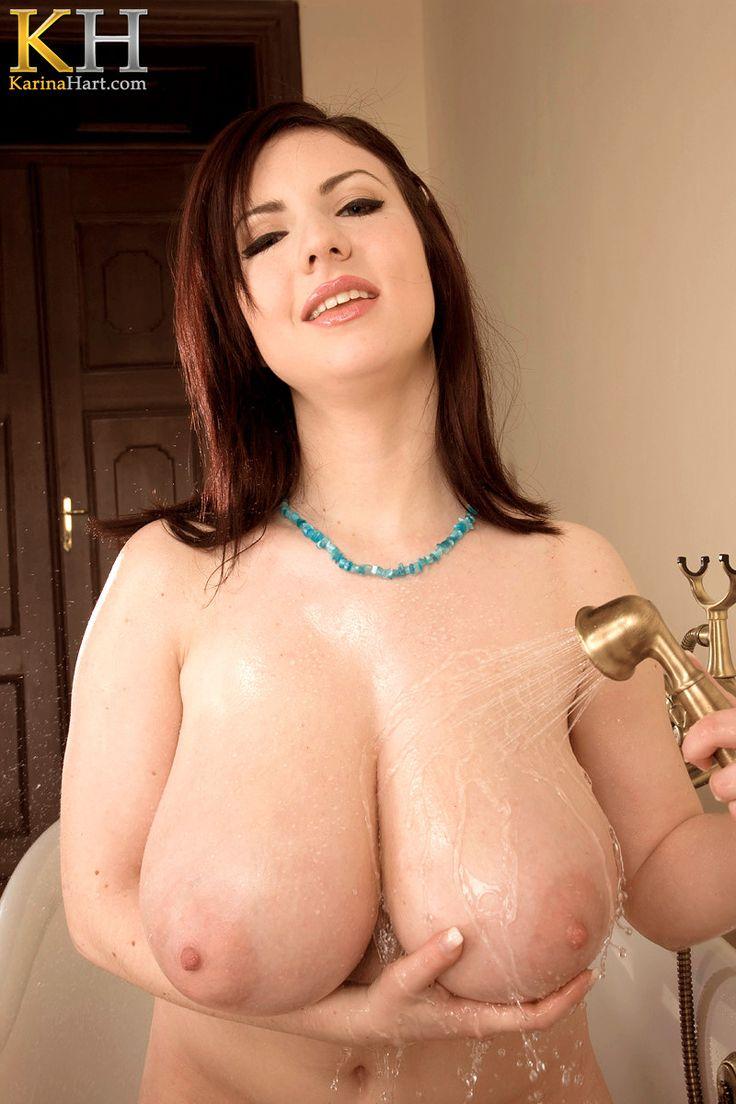 tits hart Big boobs karina