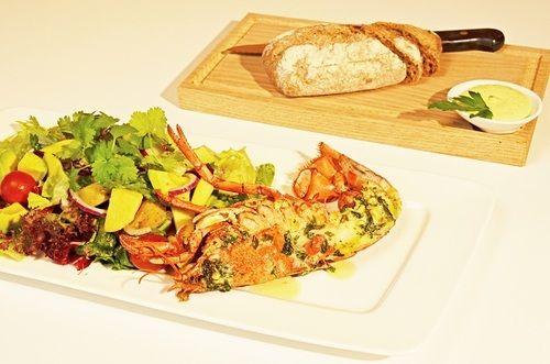 Lobster dish @ Kilden Kafe Kast Loss #Kristiansand
