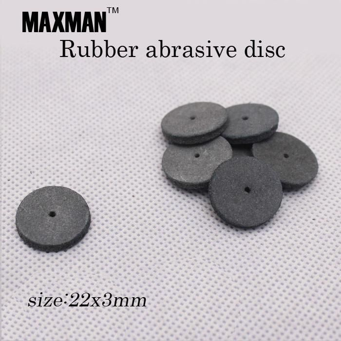 10pcs/set High Quality Rubber Abrasive Disc for Grinding/Polishing for Electric Die Mini Drill Rotary Power Tools Accessories