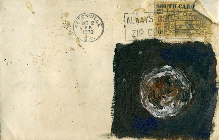 """Dear Roy & Elissa, Envelope Front, 4"""" x 6"""""""