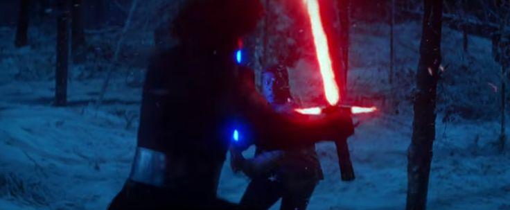 Finn vs Kylo Ren: