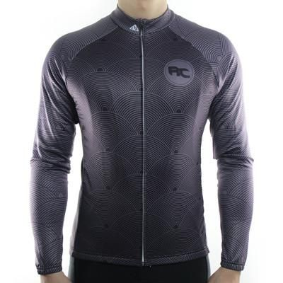 Waves - Long Sleeve Cycling Jersey