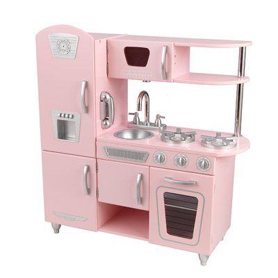 Kidkraft Vintage Kitchen 53208 This Kidkraft Play Kitchen Is Offered In White Vintage Kitchenbon