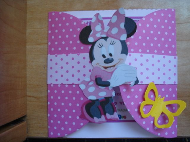Aporte. Decoracion para fiesta de Minnie Mouse>