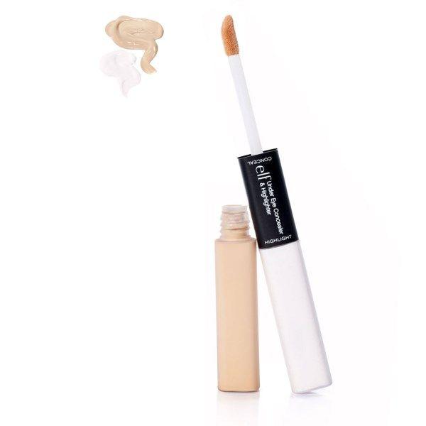 E.L.F. Cosmetics, アンダー・アイ・コンシーラー& ハイライター、フェア/グロウ、 各0.17 オンス (5 g)