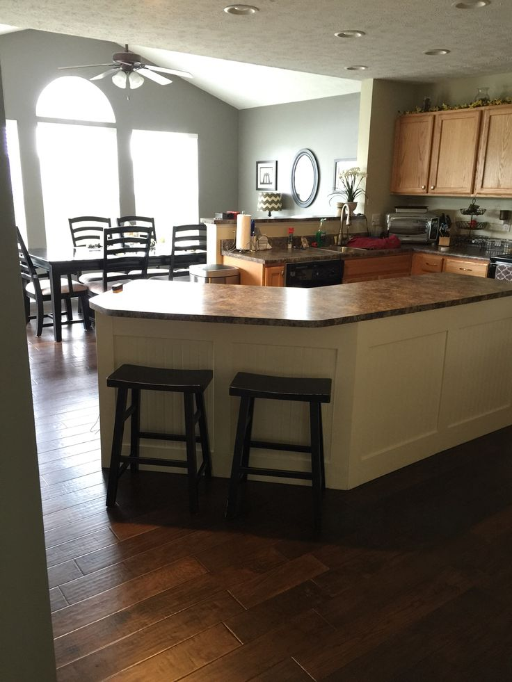 Ryan homes innsbruck model kitchen with morning room my for Morning kitchen ideas