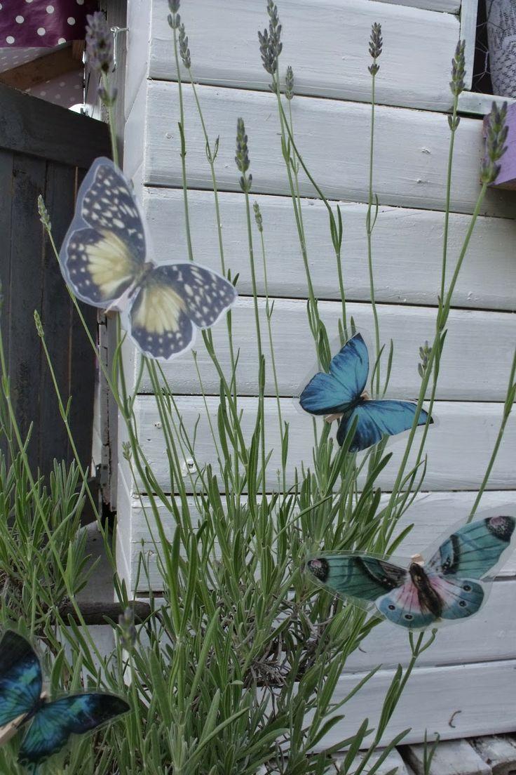 14 best diy deco jardin papillon images on pinterest garden deco gardens and butterflies. Black Bedroom Furniture Sets. Home Design Ideas