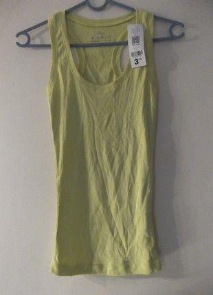 À vendre sur #vintedfrance ! http://www.vinted.fr/mode-femmes/debardeurs/51810984-magnifique-debardeur-long-jaune-mim-etiquete