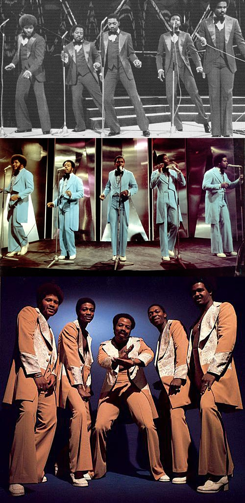 The Stylistics — Founding Members: Russell Thompkins, Jr., Herb Murrell, Airrion Love, James Smith & James Dunn