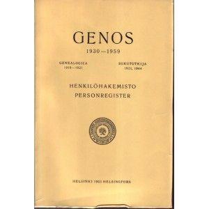 Tähän sukututkijoita kiinnostavaan hakemistoon on sisällytetty lisäksi Eeli Granit-Ilmoniemen vuosina 1918-1921 ilmestynyt Genealogica-julkaisu ja saman tekijän Sukututkija vuodelta 1921 sekä Yleisen Sukuseuran 1944 julkaisema myös saman niminen Sukututkija.