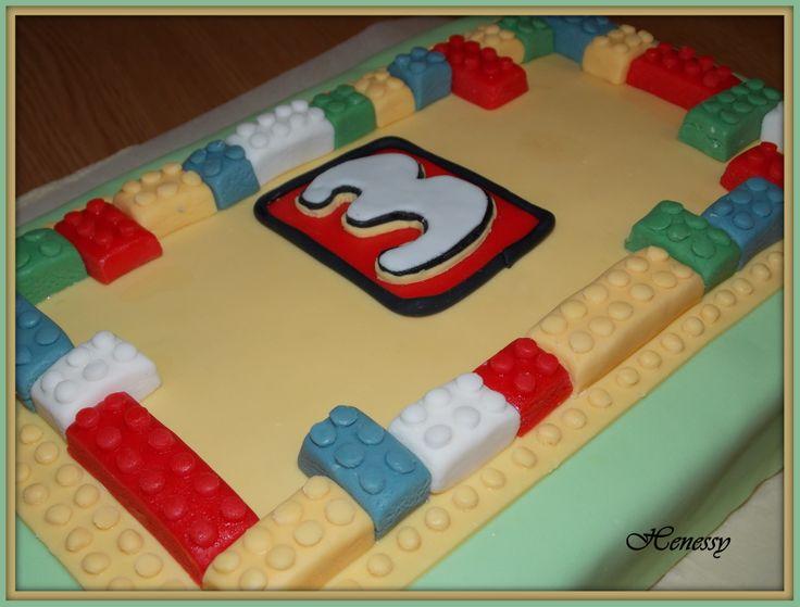 LEGO-s torta - LEGO cake
