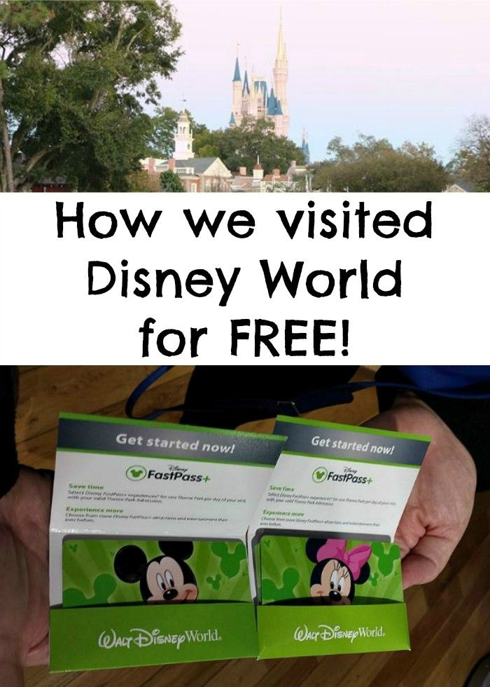 How to get free Disney World tickets! Seriously! This is how our family of 5 went to Disney World for free. AD