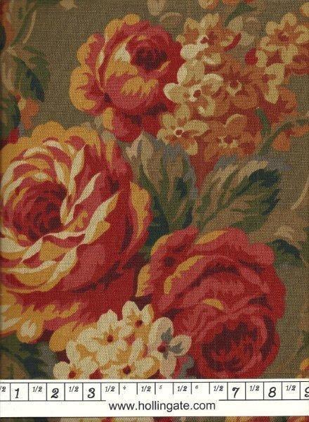 7.8 yards Richloom Multi Colored Floral Print