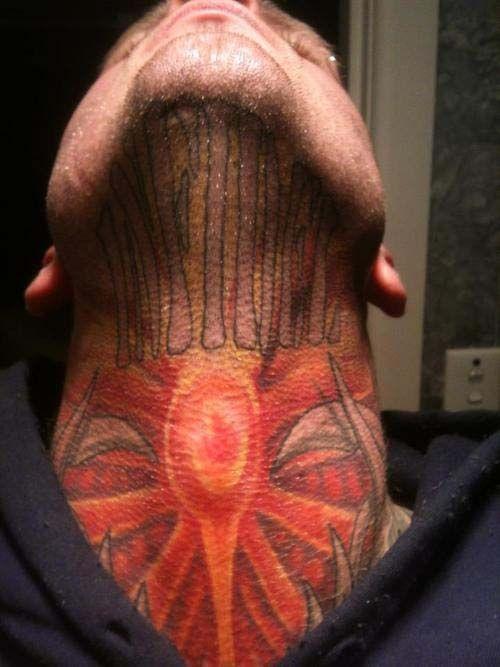 73 best neck tattoos for men images on pinterest tattoo for Best neck tattoos