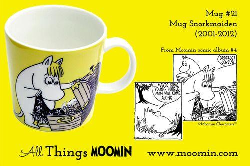Moomin.com - Moomin Mug Snorkmaiden / Snorkfrøken