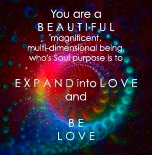 LOVE is the answer! We literally manifest everything that is in our lives! I am SO grateful to be awake and to be able to spread the knowledge! My journey is far from over, but my consciousness is growing!